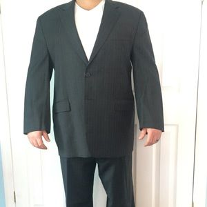 Ralph Lauren Charcoal Gray Pinstripe suit